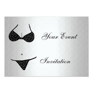 "Bachelor Party Invitation 5"" X 7"" Invitation Card"