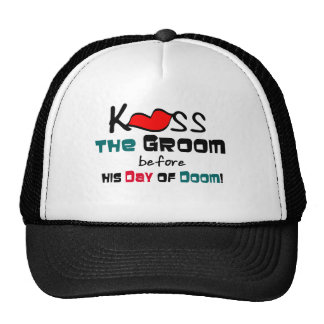 Bachelor Party Kiss the Groom Hat