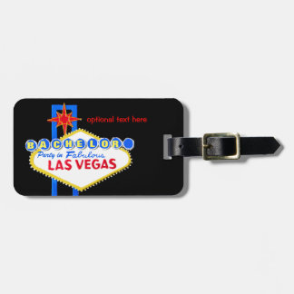 Bachelor Party Las Vegas Nevada Luggage Tag