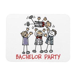 Bachelor Party Rectangular Magnet
