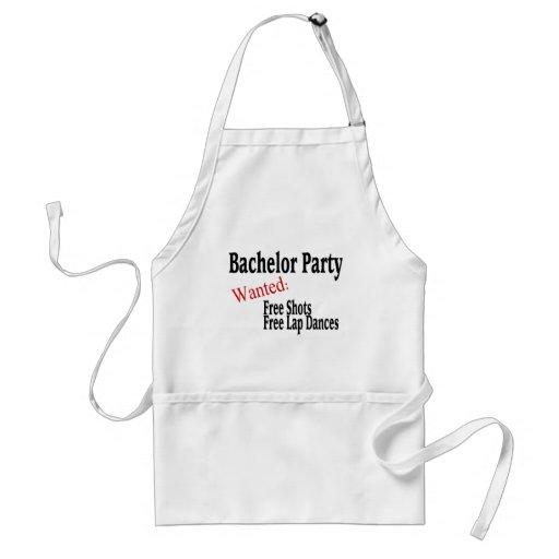 Bachelor Party (Shots and Lap Dances) Apron