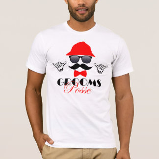 Bachelor Party T-Shirt - Grooms Posse
