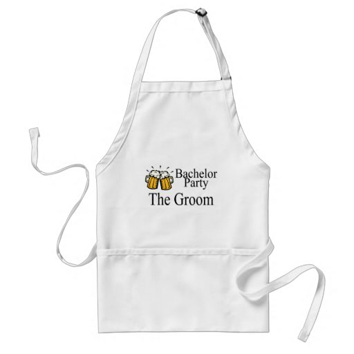Bachelor Party The Groom Apron