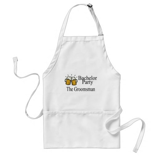 Bachelor Party The Groomsman Aprons