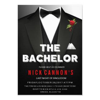 Bachelor Party Tuxedo Invitation