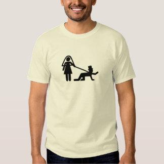Bachelor party Wedding slave Tee Shirt