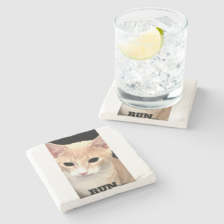 Bachelor run stone coaster