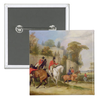 Bachelor s Hall The Meet 1835 oil on canvas Pin