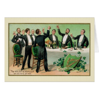 Bachelor Saint Patrick's Day Party Card