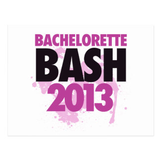 Bachelorette Bash 2013 Postcard