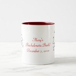 Bachelorette Bash I Two-Tone Coffee Mug