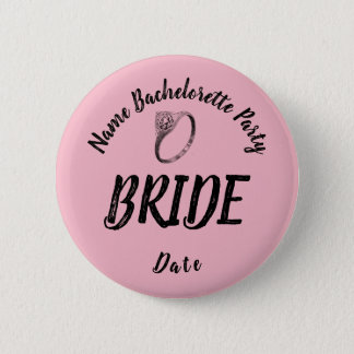 Bachelorette Bride Button