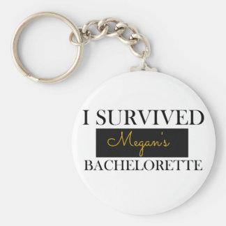 Bachelorette Favor Custom Keychain