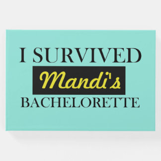 Bachelorette Guest Book | Personalized