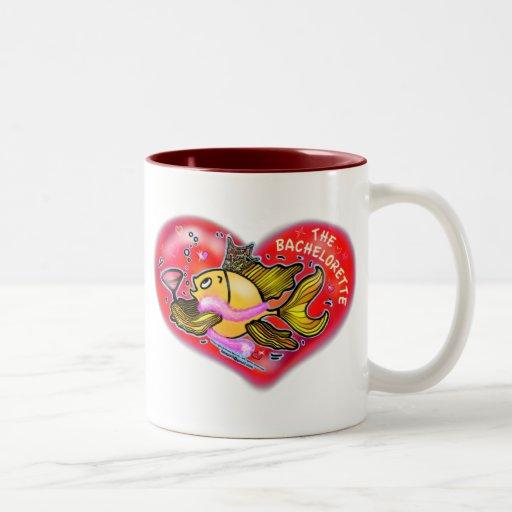 Bachelorette  Hen Party Fish Mug