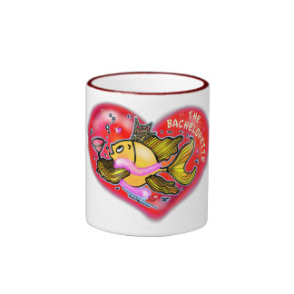 Bachelorette  Hen Party Fish Ringer Coffee Mug