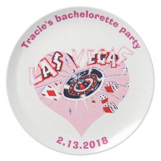 Bachelorette Las Vegas personalized Plate