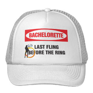 Bachelorette last fling before the ring hats