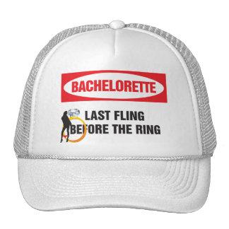 Bachelorette last fling before the ring trucker hat