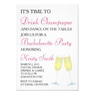 Bachelorette or Hen Party Invitation
