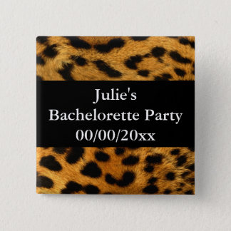 Bachelorette Party 2 Inch Square Button