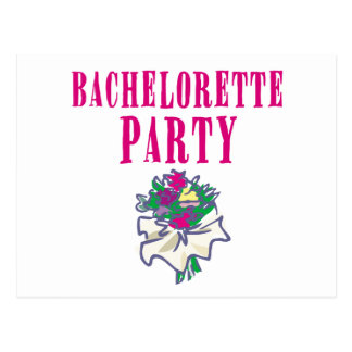 Bachelorette Party Apparel and Gifts Postcard