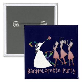 Bachelorette Party Badge Pins