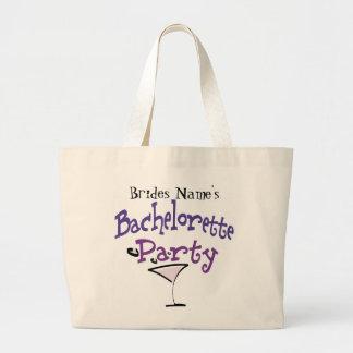 Bachelorette Party Canvas Bags