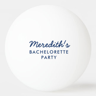 Bachelorette Party Beer Pong Ball w/ Hashtag