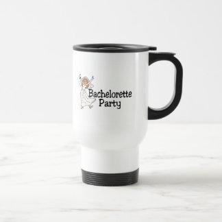 Bachelorette Party Bride 15 Oz Stainless Steel Travel Mug