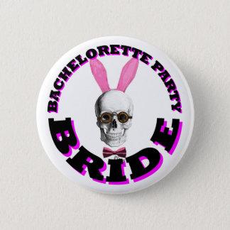 Bachelorette party bride 2 inch round button