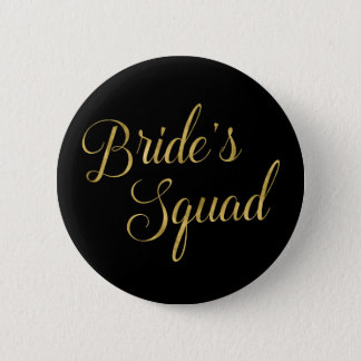 Bachelorette Party Bride's Squad 2 Inch Round Button