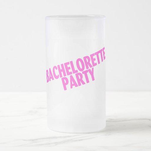 Bachelorette Party Bridesmaids Pink Mug
