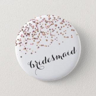 Bachelorette Party Button Bridesmaid Confetti