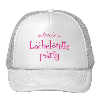 Bachelorette Party Cap Hat
