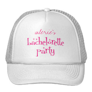Bachelorette Party Cap Trucker Hat