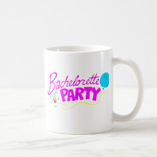 Bachelorette Party Classic White Coffee Mug
