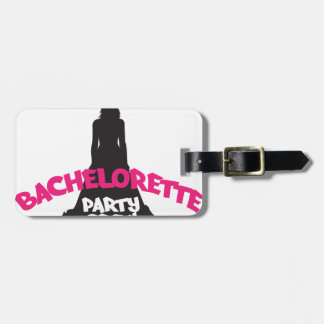 bachelorette party crew luggage tag