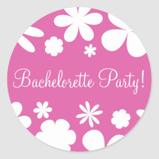 Bachelorette Party Daisy Chain Envelope Seal