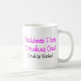 Bachelorette Party Drinking Crew Classic White Coffee Mug