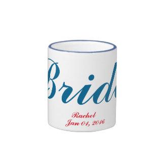 bachelorette party favor Bride custom mug