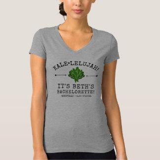 Bachelorette Party Funny Vegetable Kale Pun Custom T-Shirt