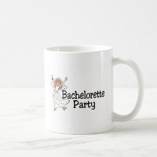 Bachelorette Party Happy Bride Basic White Mug