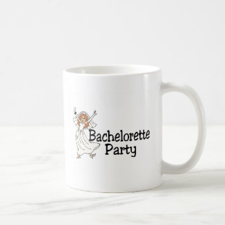 Bachelorette Party Happy Bride Classic White Coffee Mug
