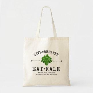 Bachelorette Party Healthy Kale Vegetarian Custom Tote Bag