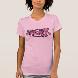 Bachelorette Party Hearts T-Shirt