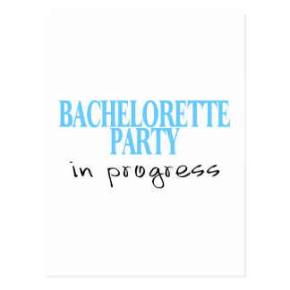 Bachelorette Party In Progress (Blu) Postcard