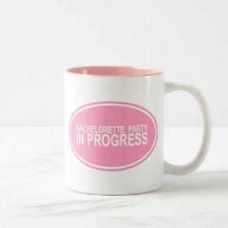 Bachelorette Party In Progress Coffee Mug