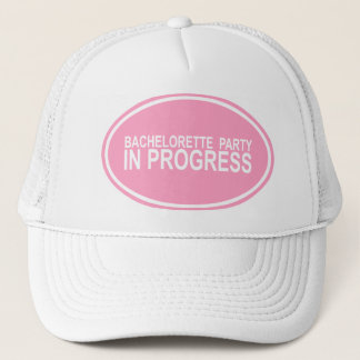Bachelorette Party In Progress Keepsake Hat
