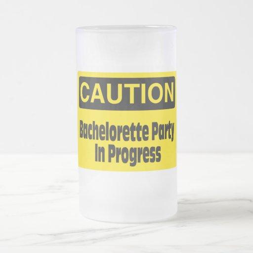 Bachelorette Party In Progress Coffee Mugs